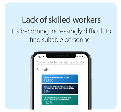 Solution lack of skilled worker