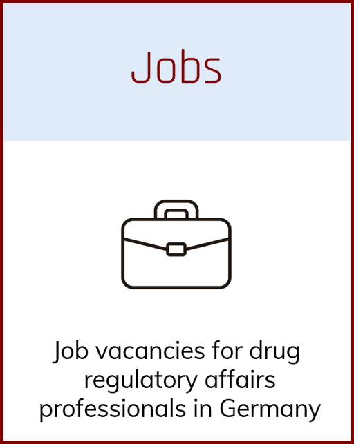 Job advertisements and vacancies for Regulatory affairs managers in Germany