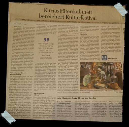 aus dem Göttinger Tageblatt 18.9.2019