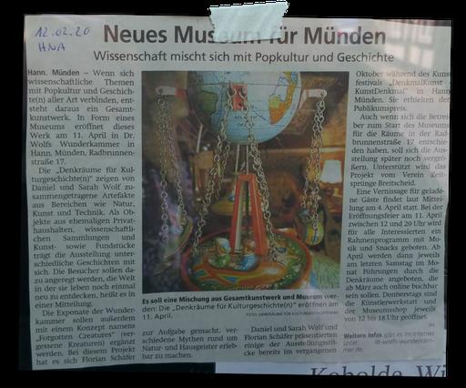 aus der Mündener Allgemeinen 12.2.2020