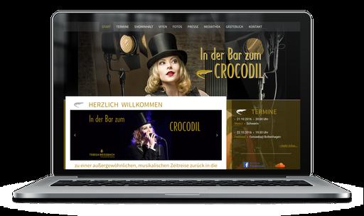 Teresa Weißbach – Liederabend »In der Bar zum CROCODIL«