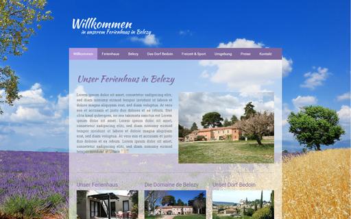 Ferienhaus in Belezy
