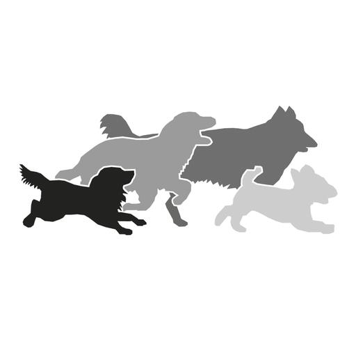Illustration für eine Hundetrainerin