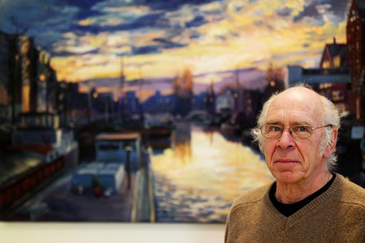 Groningse kunstenaar Wim Velt