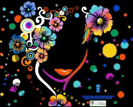 Illustrazione vettoriale per la Serigrafia - Realizzata utilizzando 4 colori Pantone
