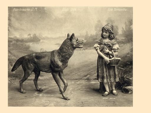 Rotkäppchen und der Wolf (homegnome.de)