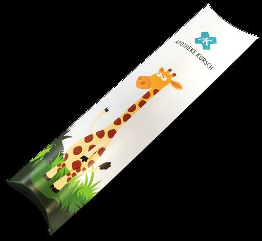 Bei Kinder besonders beliebt, DentaPax mit den 6 verschiedenen Tiersammelmotive.