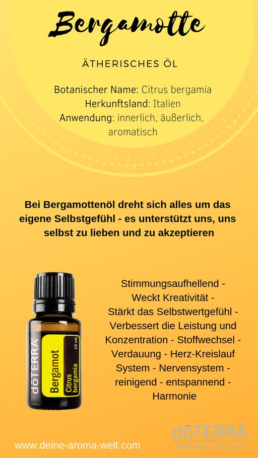 Aroma Welt: doTERRA Bergamot - Bergamotte Ätherisches Öl