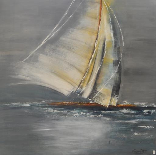 """""""Le voilier"""" Michelle PASSEROTTE"""
