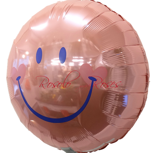 ballon smile rose