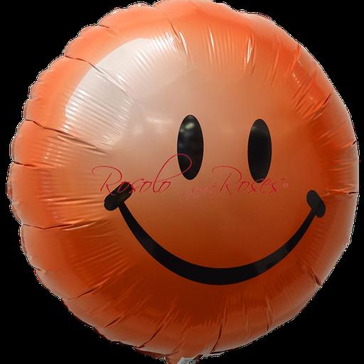 ballon smile rouge