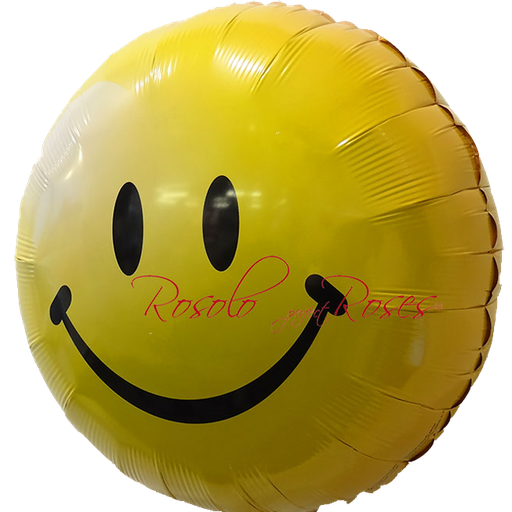 ballons smile jaune