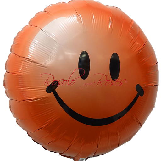 ballon smile rouge