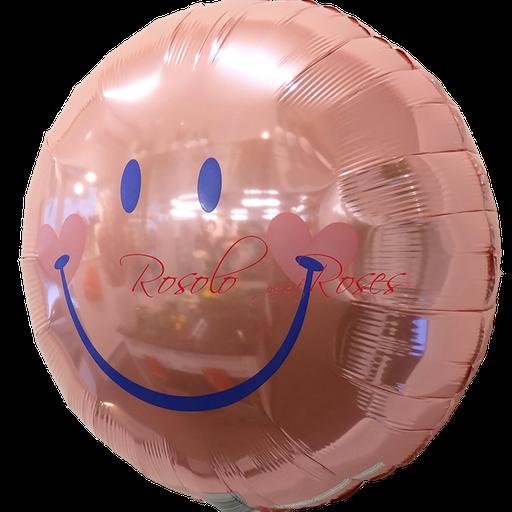 ballon smile rose