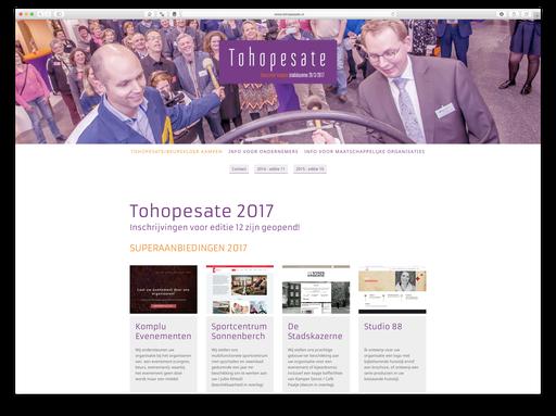 Tohopesate, beursvloer Kampen 2017