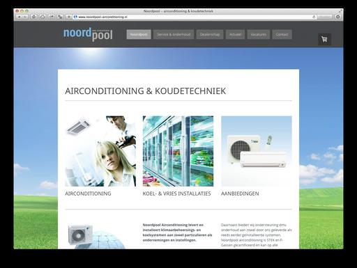website www.noordpool-airconditioning.nl