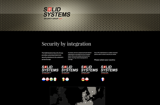 website Solid Systems Group