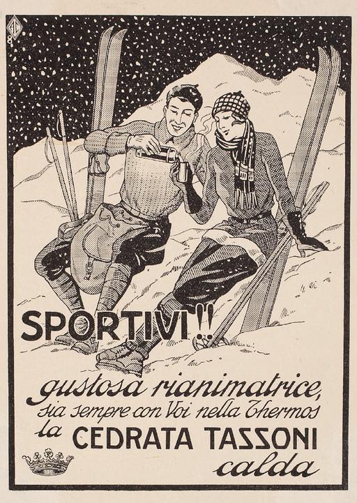 Vintage Tassoni ad