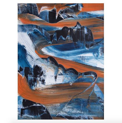 avalanche for eddie (29x40, #20/2021)