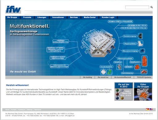 Website & Intranet, http://www.ifw.at