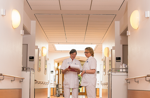 Pflegekräfte im St. Marien-Krankenhaus Berlin Lankwitz