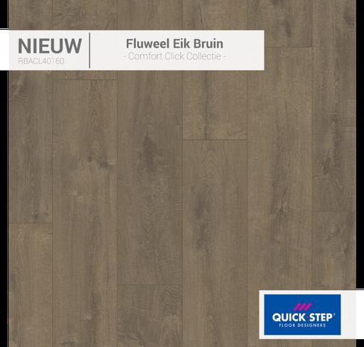 Rigid Fluweel eik bruin 40160