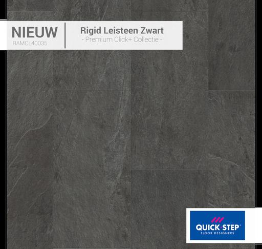 40035 Rigid Leisteen Zwart