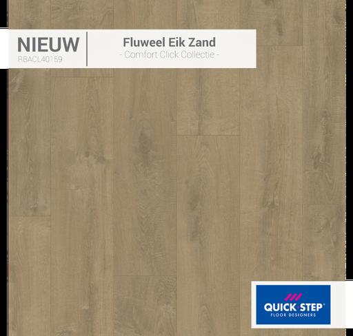 Rigid Fluweel eik zand 40159