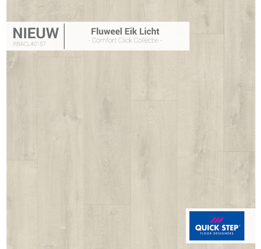 Rigid Fluweel eik licht 40157