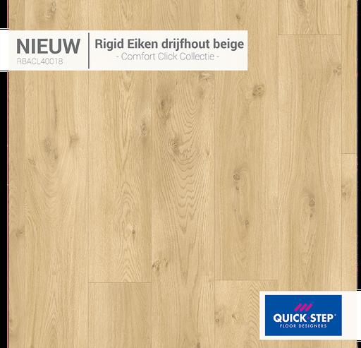 Rigid Eiken Drijfhout Beige 40018
