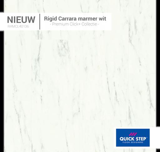 40136 Rigid Carrara Marmer Wit