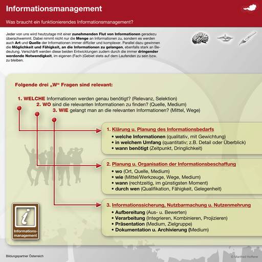 Bildungspartner Informationsmanagement- Bildungspartner Österreich