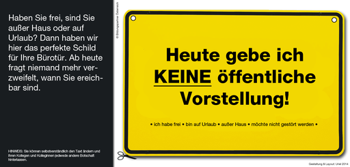 Bildungspartner Büroschild- Bildungspartner Österreich