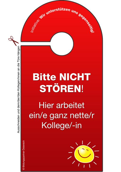 Bildungspartner Bitte nicht stören- Bildungspartner Österreich