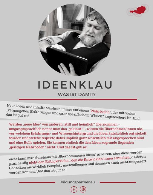 Ideenklau- Bildungspartner Österreich