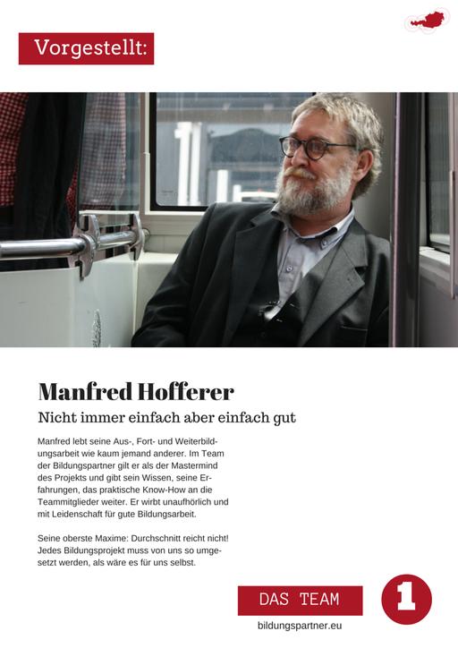 Manfred Hofferer- Bildungspartner Österreich