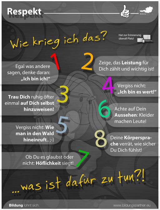 Bildungspartner Für die Jugend Respekt- Bildungspartner Österreich