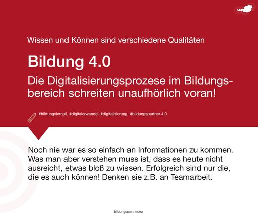 Digitalisierung- Bildungspartner Österreich