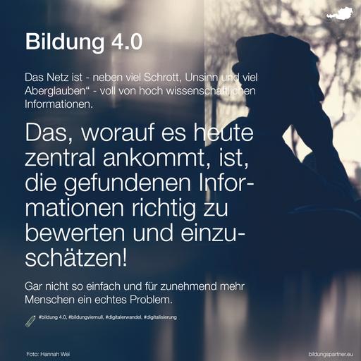 Informationsbewertung- Bildungspartner Österreich