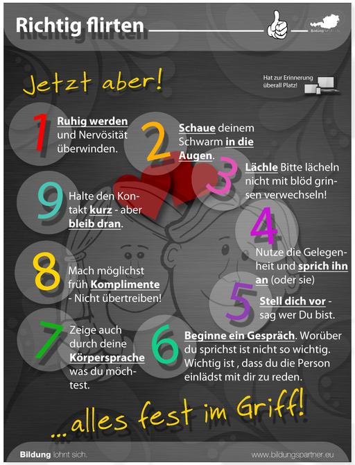 Bildungspartner Für die Jugend Flirten, wie geht das?- Bildungspartner Österreich