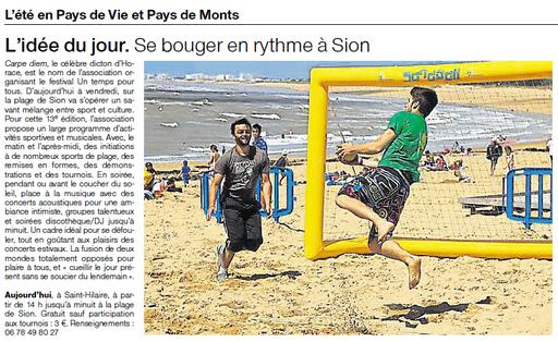 Ouest France - 17 août 2015