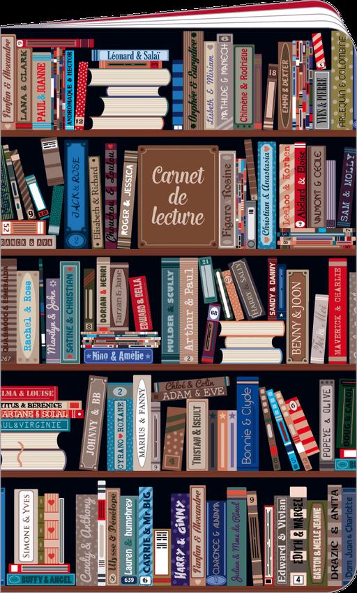 Carnet de lecture illustré par Lali et MG
