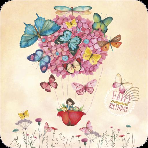 Carte postale illustrée par Mila