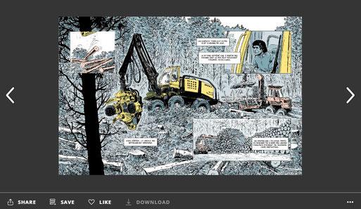 Une BD à lire pendant ces temps de confinement : Le devenir des forêts Françaises - ACCOB