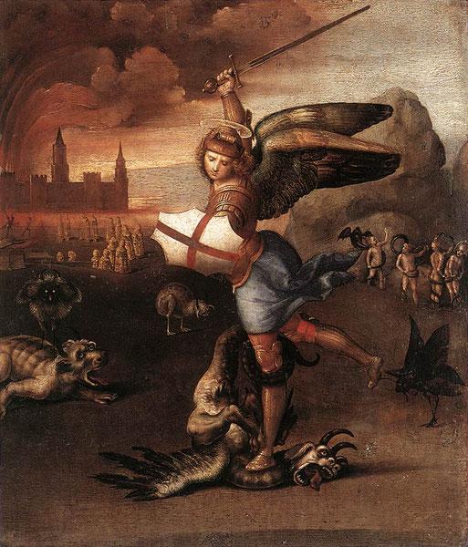 《聖ミヒャエル》,1504-1505年