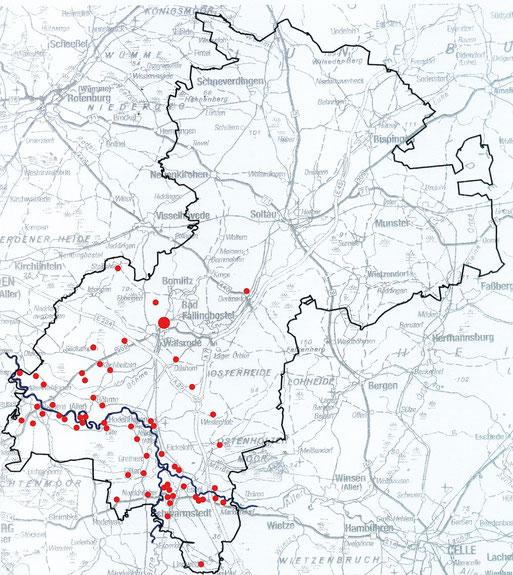 Verbreitung des Weißstorches