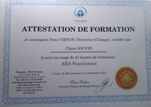 Schéma représentatif de la méthode ABA
