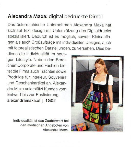 Individualität ist das Zauberwort bei den modischen Angeboten von Alexandra Maxa