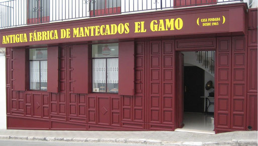 Resultado de imagen de Antigua Fábrica de Mantecados El Gamo