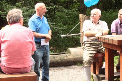 Herr Hans-Otto Gässler - Grüße und Wünsche des Kreisvorstandes